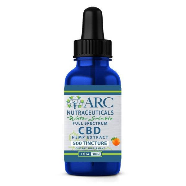 Water Soluble CBD Tincture 500mg