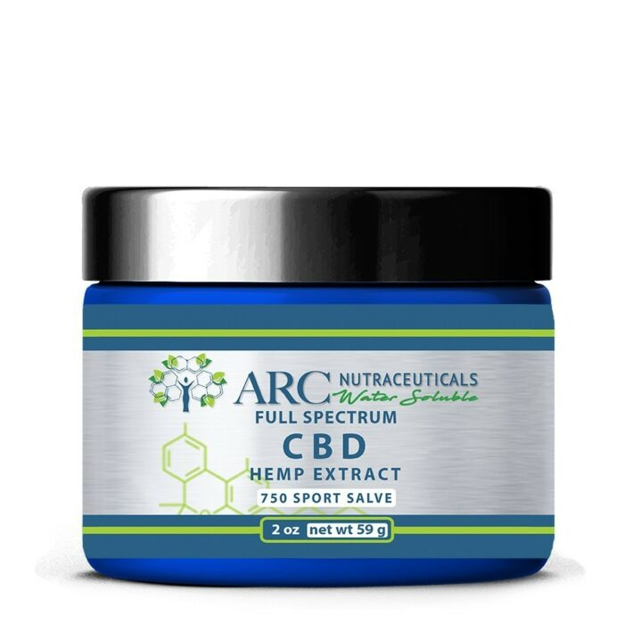 CBD-oil-water soluble-nano-ARC-Nutraceuticals-Most-Popular-750mg-Salve-Topical-ARC-arcnutra
